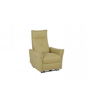 1 seater sofa power recliner DM02003 OLIVE 38