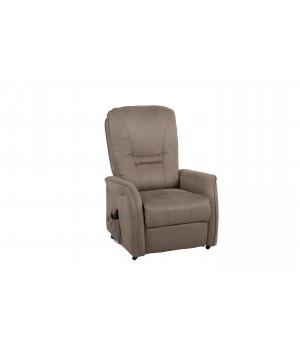 1 seater sofa power recliner DM02007 BROWN-GRAY 16G