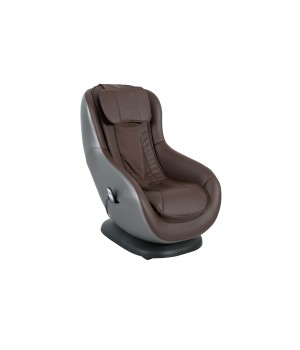 1 seater sofa recliner with stool DM02010 PU CHOCOLATE