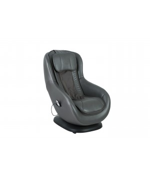 1 seater sofa recliner with stool DM02010 PU GRAY