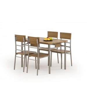 NATAN table + 4 chairs