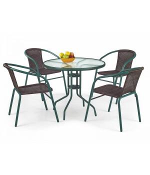 GRAND 80 table color: dark green
