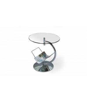 ALMA coffee table color: transparent
