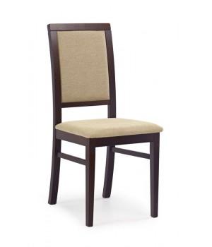 SYLWEK 1 chair color: dark walnut/TORENT BEIGE