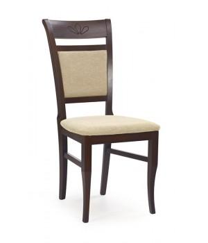 JAKUB chair color: dark walnut/TORENT BEIGE