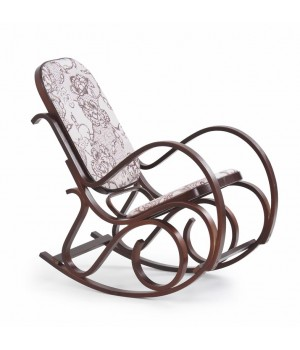 MAX II rocking chair color: wenge