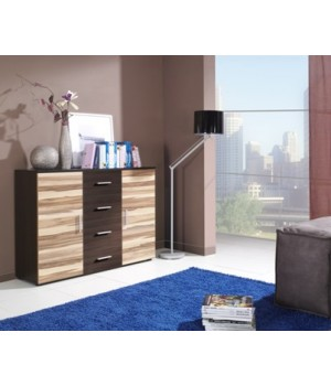 Chest of drawers UNI wenge/ baltimore nut
