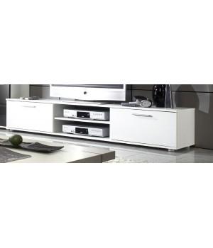 TV Stand ZARA white/white