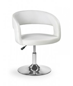 H41 bar stool color: white