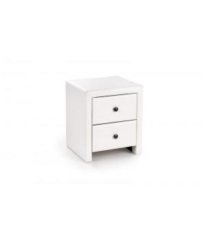 PRIMA night stand color: white