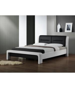 CASSANDRA bed color: white/black