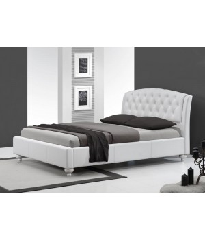 SOFIA bed color: white