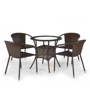 MIDAS table color: dark brown