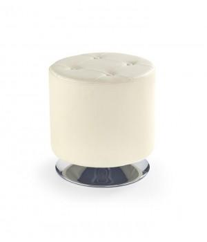 DORA pouffe color: creamy
