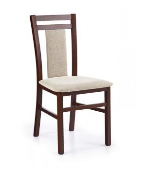 HUBERT 8 chair color: dark walnut/vila 2