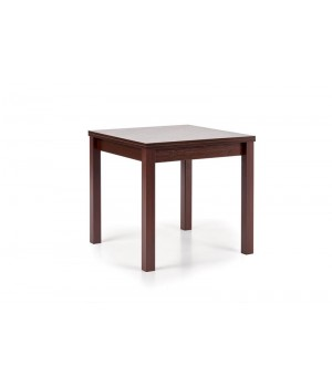 GRACJAN table color: dark walnut