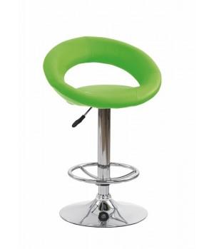 H15 bar stool color: lime green