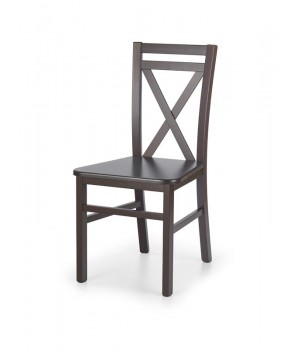 DARIUSZ 2 chair color: dark walnut