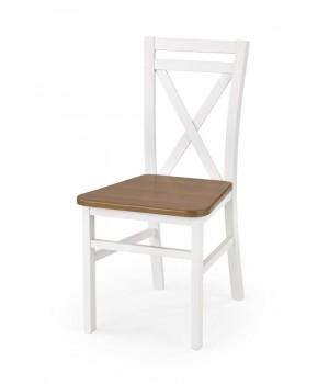 DARIUSZ 2 chair color: white / alder