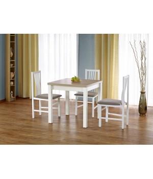 GRACJAN table color: sonoma oak / white