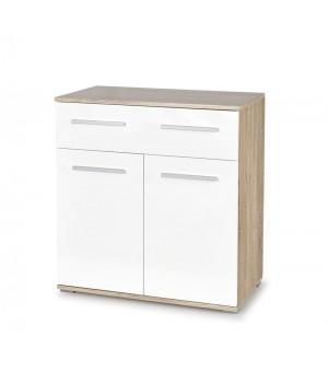 LIMA KM-1 chest, color: sonoma oak / white