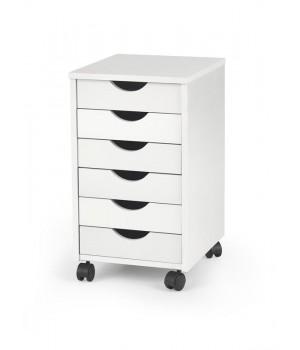 SIMON 2 storage unit color: white