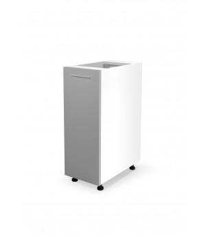 VENTO D-30/82 lower cabinet, color: white / light grey