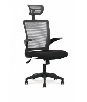 VALOR o. chair, color: black / grey
