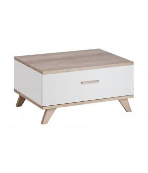 LEGG coffee table (monument oak/white)