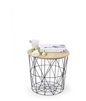 MARIFFA c. table, color: natural / black