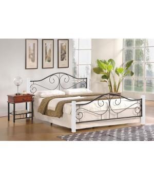 VIOLETTA 16 bed, color: ecru / black