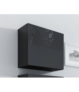 square full cabinet VIGO WITR. KWADRAT black/black