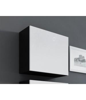 square full cabinet VIGO WITR. KWADRAT black/white