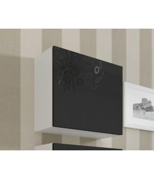 square full cabinet VIGO WITR. KWADRAT white/black