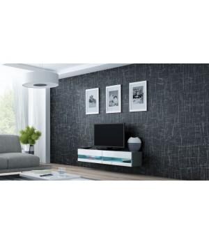 lift door TV Stand VIGO NEW RTV 140 grey/white