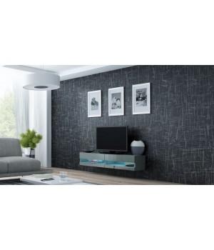 lift door TV Stand VIGO NEW RTV 140 grey/grey