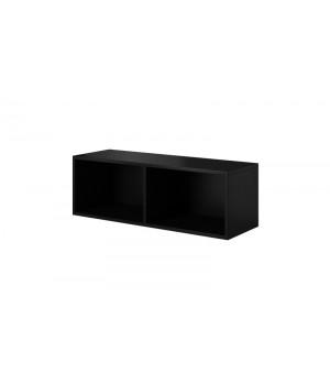 ROCO RO2 TV STAND OPEN black