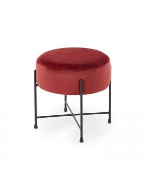 NIVA stool, color: maroon