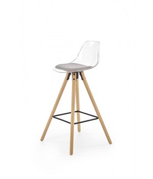 H91 bar stool, color: light grey