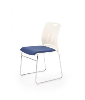 CALI chair, color: white / blue