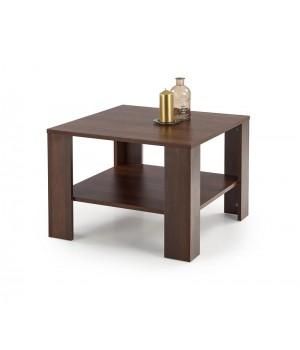 KWADRO SQAURE c. table, color: dark walnut