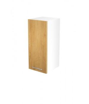 VENTO G-30/72 top cabinet, color: white / honey oak