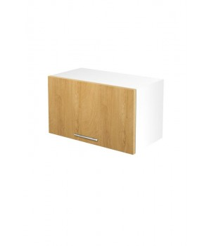 VENTO GO-60/36 hood top cabinet, color: white / honey oak