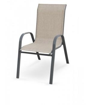 MOSLER garden chair, color: grey