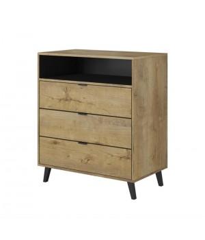 NEST KM-2 chest color: lefkas oak / black