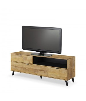 NEST RTV-1 TV-stand color: lefkas oak / black