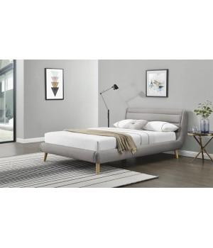 ELANDA 180 bed, color: light grey