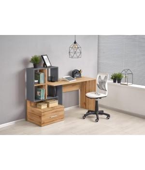 GROSSO desk votan oak / anthracite