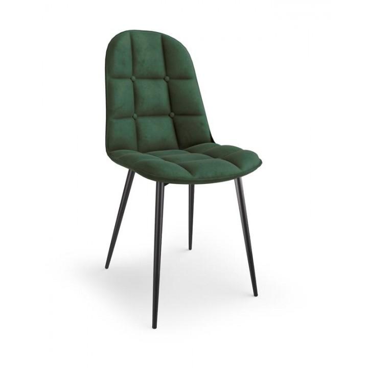 K417 chair, color: dark green