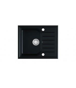 ALAROS sink, color: black matt